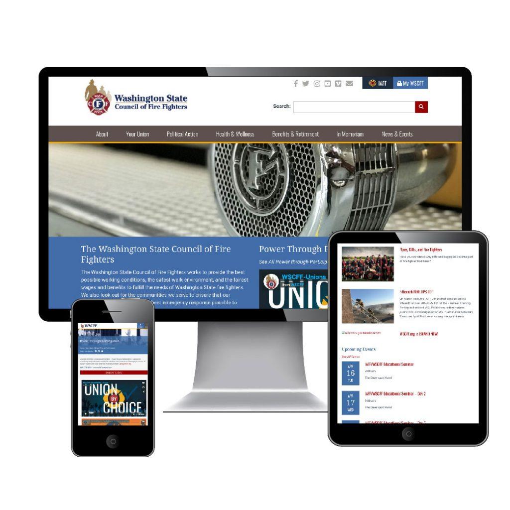 wscff.org responsive website