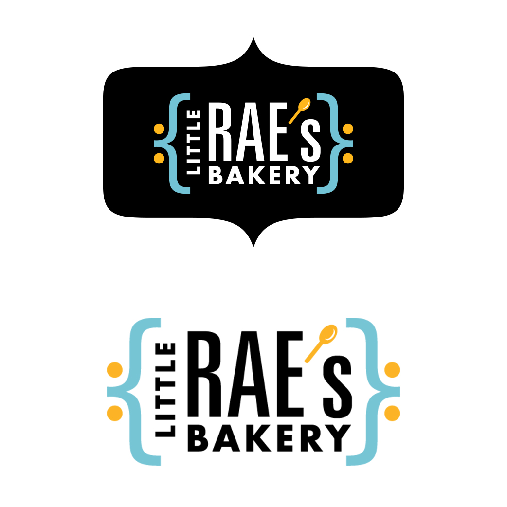 Little Rae's Bakery logos
