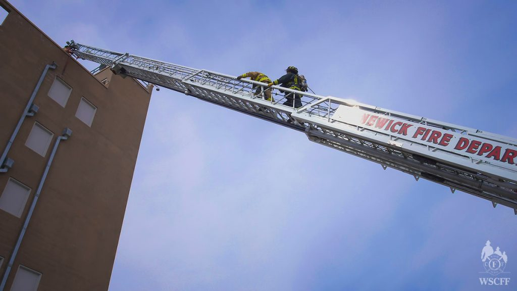 Climbing up the ladder 7 stories