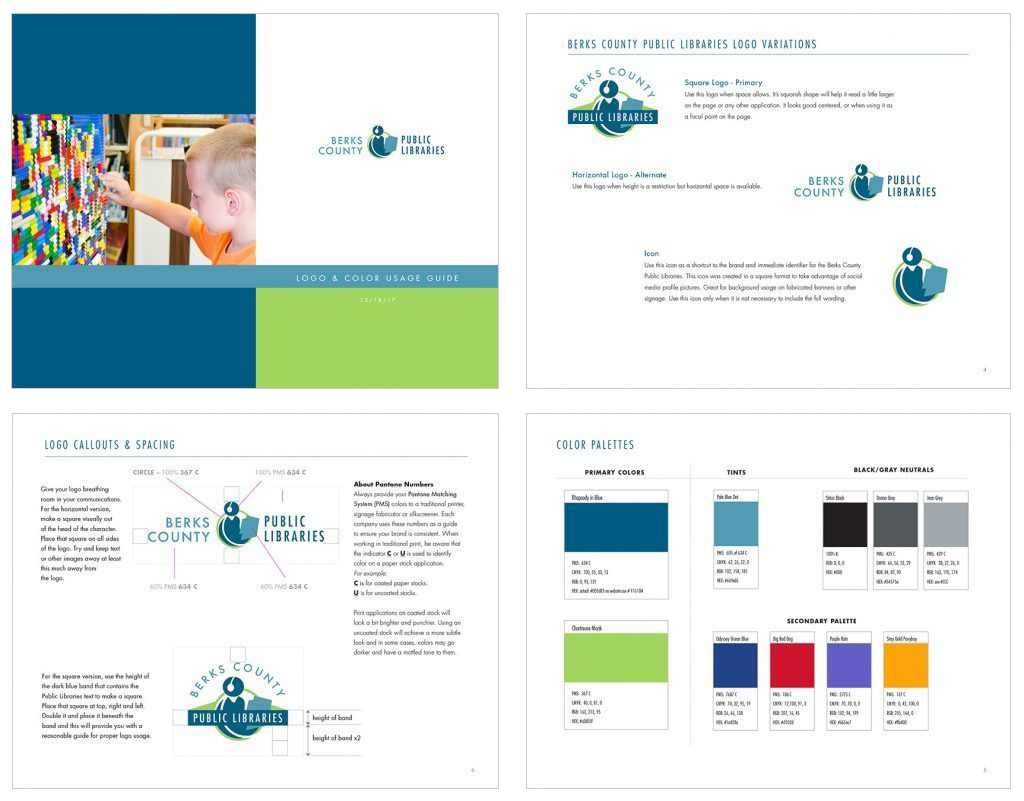 Berks Public County Library brand Guide