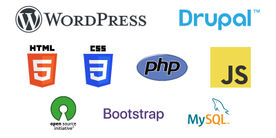 web development logos