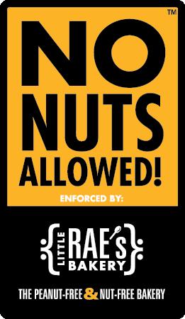 No Nuts allowed logo