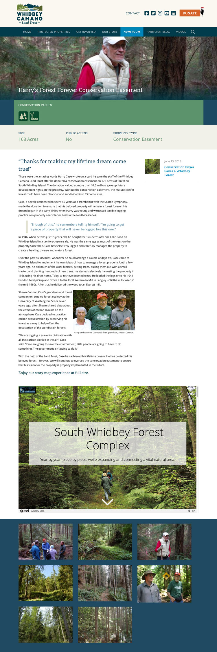 South Whidbey Story