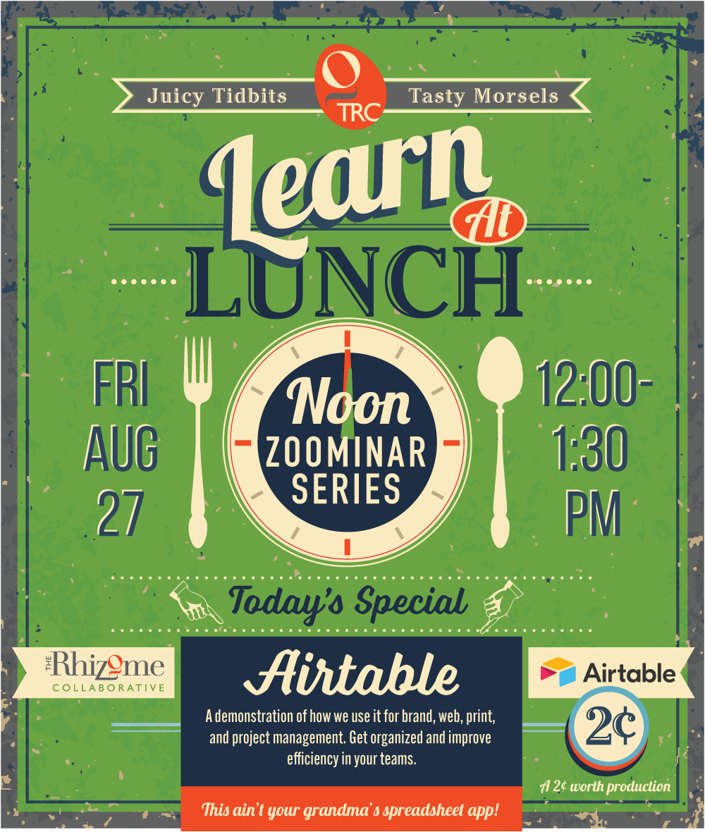Learn at Lunch Flyer-Airtable